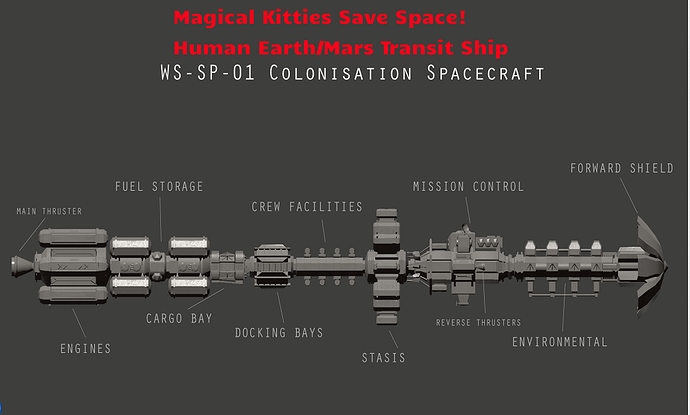 Magical Space Ship